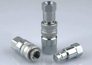 China Safety Flush Face Hydraulic Quick Couplers , Wear - Resisting Quick Connect Coupling supplier