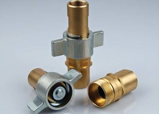 China 1 Inch Threaded Female Coupling Connect Under Pressure Hydraulic KZE-BB In Brass supplier