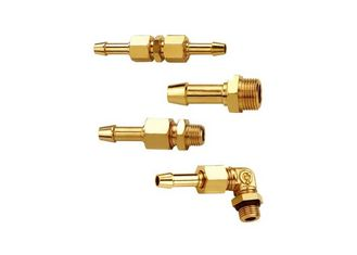 China Outside Insert Type Pneumatic Fittings JWR In Brass 1.0 MPa Maximum Pressure supplier