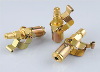 China Adjustable Type Series Refrigeration Couplings Brass Over Pressure Resistant supplier