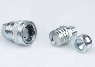 China Close Type Hydraulic Trailer Brake Coupling Metric Thread Preventing Uncoupled Leakage supplier