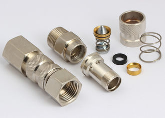 China Convenient Pneumatic Quick Disconnect Couplings LSQ-25 Rectus 25KA In Brass supplier