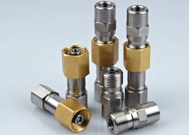 China Portable Straight Thread Coupling Parker 1141 Interchange In Stainless Steel 316 / Brass factory