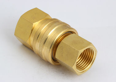 China American Type High Flow Quick Connect Low Pressure Drop LST Hydraulic In SS304 / Brass distributor